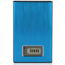 Best selling durable charger power portable dual usb LCD display power bank