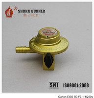 Good Quality LPG Cooking Gas Regulator With Meter, Gas Regulator For Hose, Gas Regulator With Pressure Gauge From Manufacturer