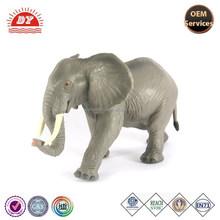 Mini elefante pvc figura africano