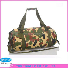 2015 High Quality 500D PVC Tarpaulin Waterproof Duffel Bag For Outdoor Sports