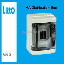 IP65 HA 8ways PC Plastic Box Enclosure Electronic