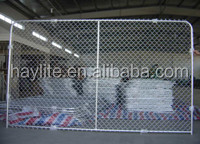 steel plastic chain link fence