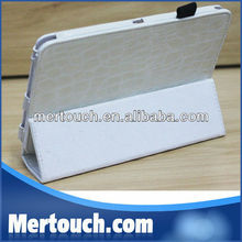 New Pu Leather Case for Kindle Fire ,Fold Crocodile Leather Case,Stand sleeve For Amazon Tablet pc