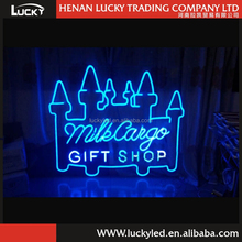 12v led neon rope light advertising sign