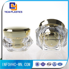 50g face cream diamond plastic cosmetic container
