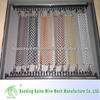 First class surface metal chain link curtain