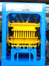 Fully Automatic Cement Block Making Machine QT4-15 for making hollow blocks in Alibaba exp