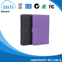 Guangdong ShenZhen PU Leather Metal Pan Perfect Combination Ebits EB-P001 Tablet Pc Keyboard For Ipad