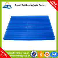 Ultra weathering strong fire resistance pc canopy/awning of balcony /window /door for bus station