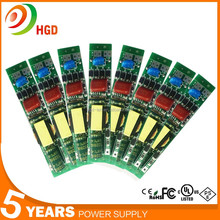 Factory price T8 led tube driver out correct 260mA, 22w led tube non-Isolated Power with 5 years warranty