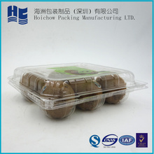 in supermarket wholesale Disposable Blister Clear Customized box Fruit Packing