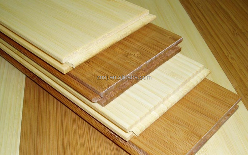 Eco friendly waterproof solid nature vertical bamboo floorings for Eco friendly bamboo flooring