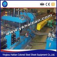 near tianjin reduce cost cz purlin roll forming machine