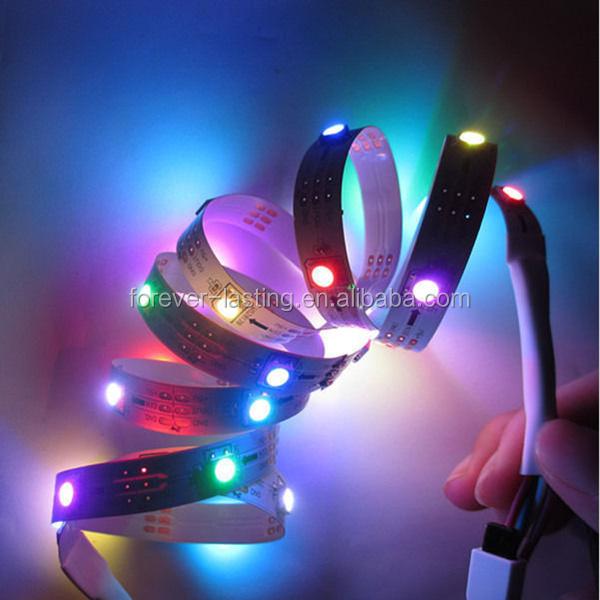 Waterproof Led Lighting Smd Rgb 5050 Ws2811 Ws2812b Programmable Ribbon Tape Decoration ...
