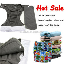 ohbabyka bamboo charcoal diaper wholesale supplier baby clothing china baby cotton diaper