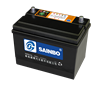 Powerful 12V50-80AH Dry charge Battery for all cars/bus/truck