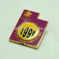 turn of the century metal badge