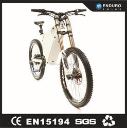 80km/h full suspension Enduro EBike 72v 5000w With Lifepo4 Battery