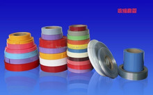 white/red/yellow/black/gray pvc shrink tube for industrial package
