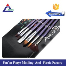 Free sample custom new synthetic artist painting brush manufacturer