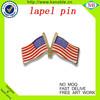 wholesale Custom logo Metal Cross Flag Pin Badge