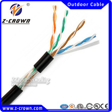 Cat 5e UTP Network Cable Waterproof Cable For Outside