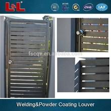 Persiana in alluminio& feritoia cancello per esterno utilizzato