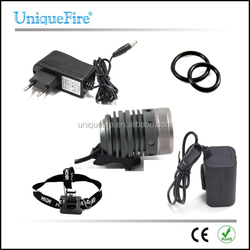 UniqueFire Cree xm-l u2 900 lumen 4.2V Rechargeable Led Light bike