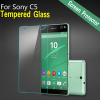 Mobile Phone LCD Film Tempered Glass Screen Protector For Sony Xperia C5 Ultra