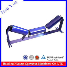 127mm dia multiple labyrinth seal conveyor roller with support