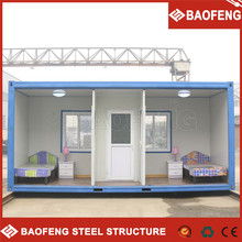 multiple connections prefabricated living shipping container house