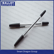 Factory directly sale with plastic box packing Indelible ink ball pen