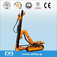 f=6~20 18m pneumatic rock bolt drilling rig