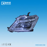 Automotive headlight assembly Integrated hid kit for Nissan Patrol with Angel Eyes