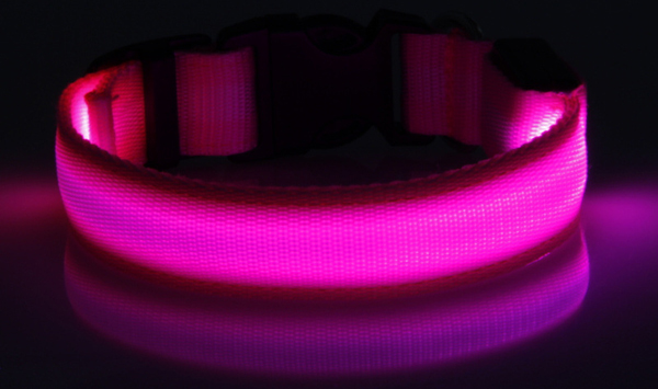 S-M-L size pet products led dog collar
