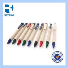 paper tube Green plastic advertising ballpoint pen