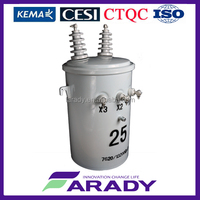 100kva single phase distribution transformer pole mounted D11 series