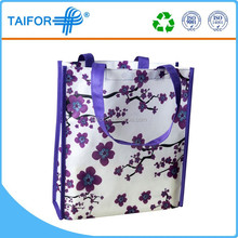2015 reusable vinyl tote shopping bag wholesale