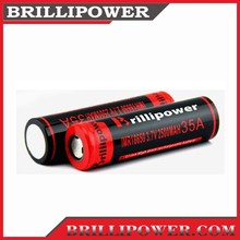Best 18650 battery 18650 battery us18650gr g7 2500mah rechargeable li-ion battery on sale