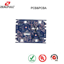 Rigid double side FR4 material pcb bare board for PCBA soldering