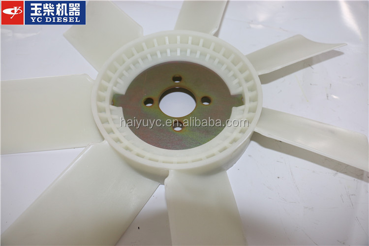 Fan Blades For Small Motors : Q b yuchai electric motor cooling fan blade