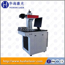 Laser name tags engraver machine optical fiber laser marker marking machine for ring jewelry with rotary device marking machine