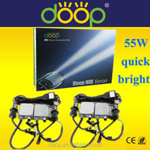 The King Of AC HID Xenon Kit!Long Working Time 3000-30000K 12V 55W HID H4 High Low AC Quick Bright HID Light