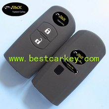 TopBest 2 button silicone car key cover for mazda car key mazda key case