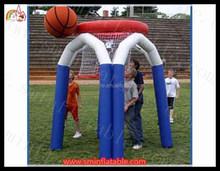 inflatable throwing game / inflatable basketball throw / inflatable basket ball