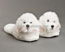sz11-0022 China hot new design factory direct sales kids plush slippers and shoes