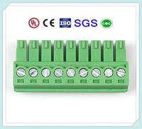 PCB Plug-in Terminal Block Connector 300V 10A Pitch: 3.5mm/3.81mm