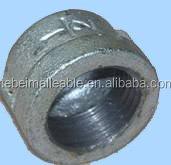 galvanized ductile iron high pressure screw pipe fitting cap manufacturer