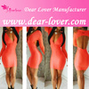 Oem service china suppiler women's sexx xx bodycon bandage dress