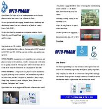 OPTO-PHARM CONTACT LENS SOLUTION
